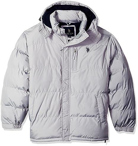 U.S. Polo Assn. mens big-tall Classic Short Bubble Jacket: Amazon.ca:  Clothing & Accessories