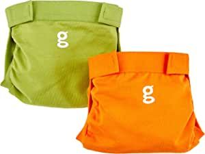 Gdiapers Everyday G's, Small, 6-Count, 1.4-Pound