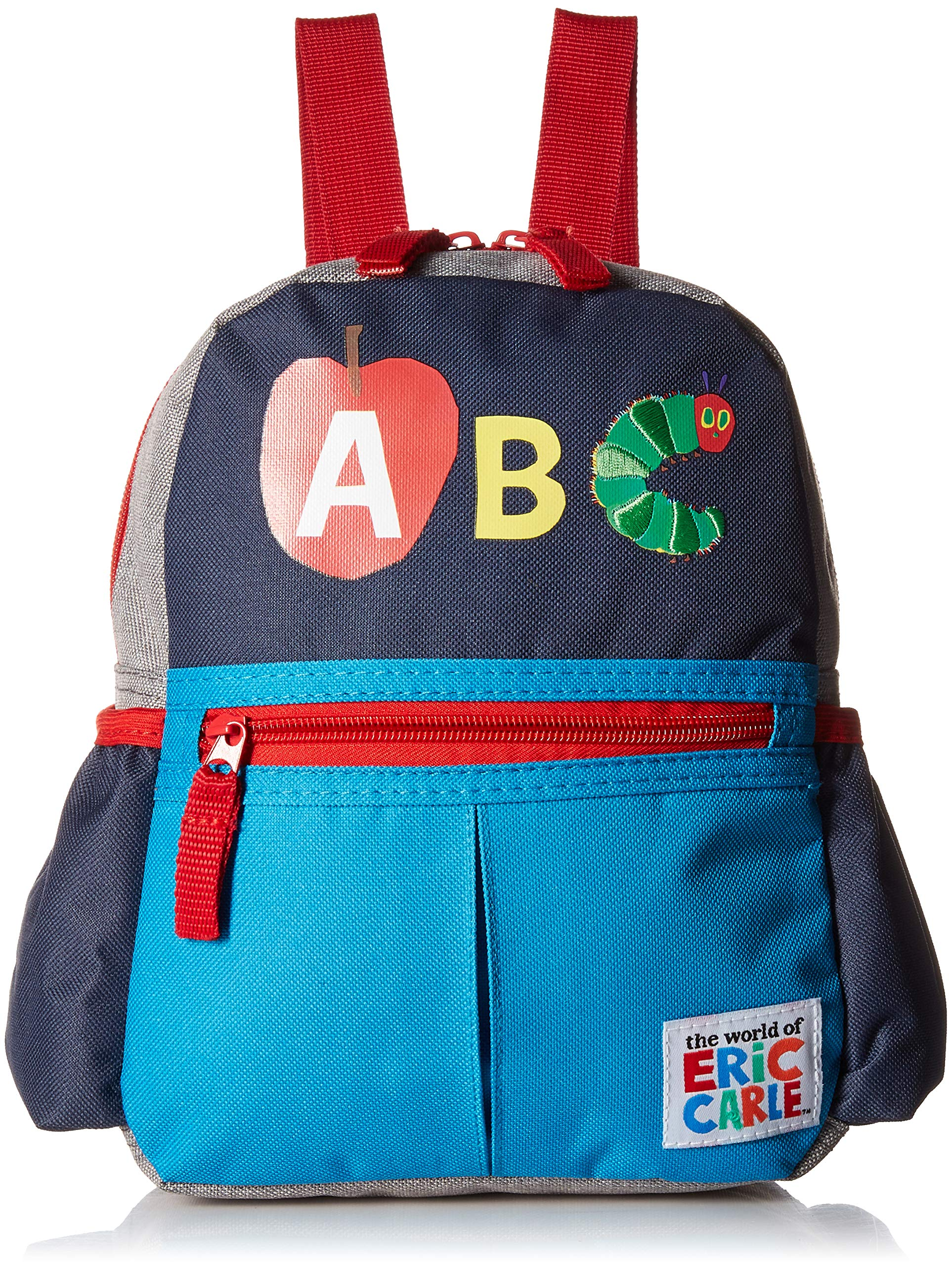 Eric Carle Backpack with Safety Harness Leash, ABC, The Very Hungry Caterpillar Child Baby Toddler Travel
