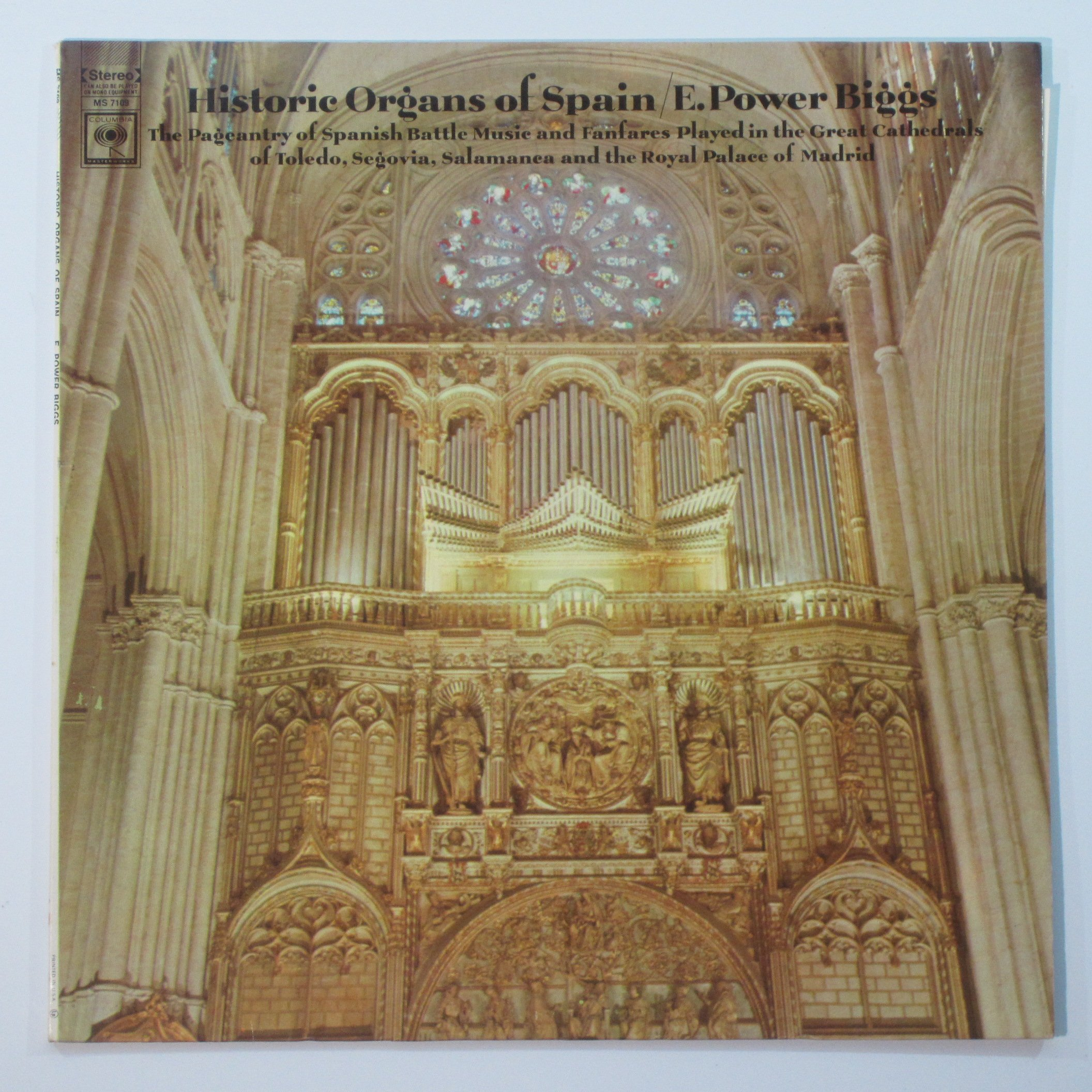 Historic Organs of Spain by columbia