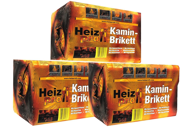 HeizProfi Premium Kaminbriketts - 30 Kg