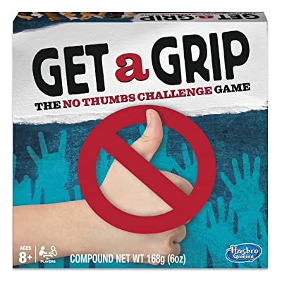 Hasbro Gaming Juego Get a Grip (versión en inglés): Juguetes y juegos