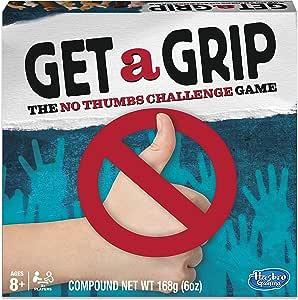 Hasbro Gaming Juego Get a Grip (versión en inglés): Amazon.es: Juguetes y juegos