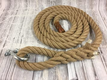 RopeServices UK 40mm Natural Gym Rope Choose Your Length  6