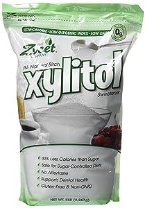 Zveet Birch Xylitol Sweetener (Made in USA) (5 LB)
