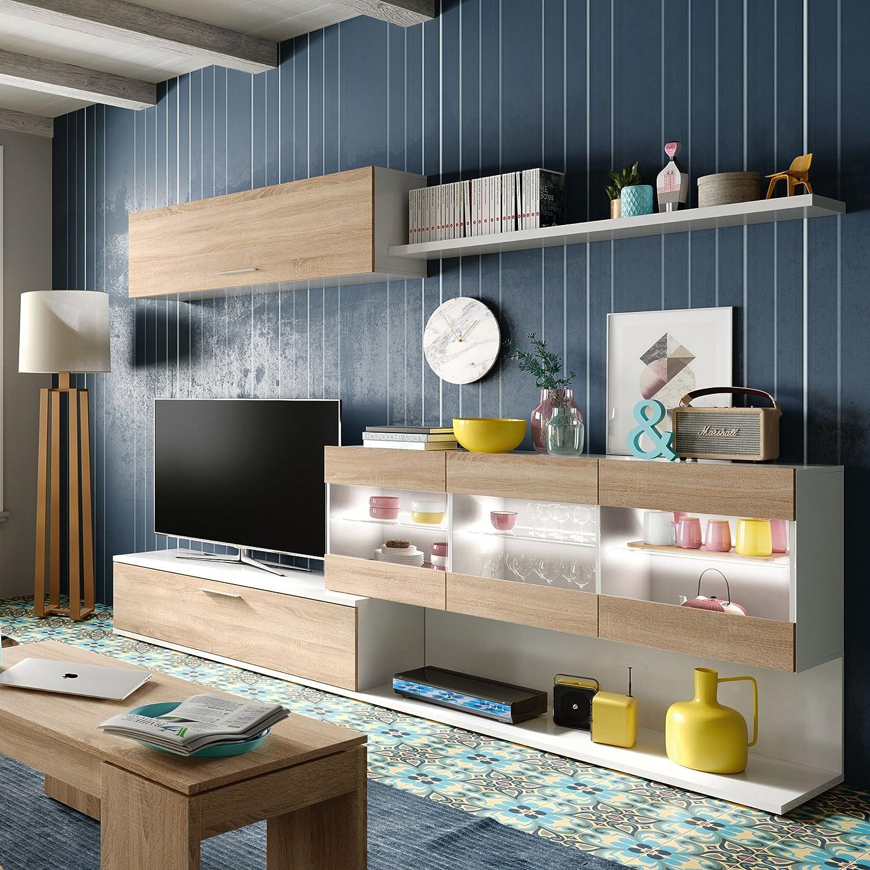 Moderno Conjunto De Muebles De Sal N Livia Muebles Para Sala De  # Muebles Dash Juveniles