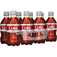 Diet Coke Bottle (8 Count, 12 Fl Oz Each)