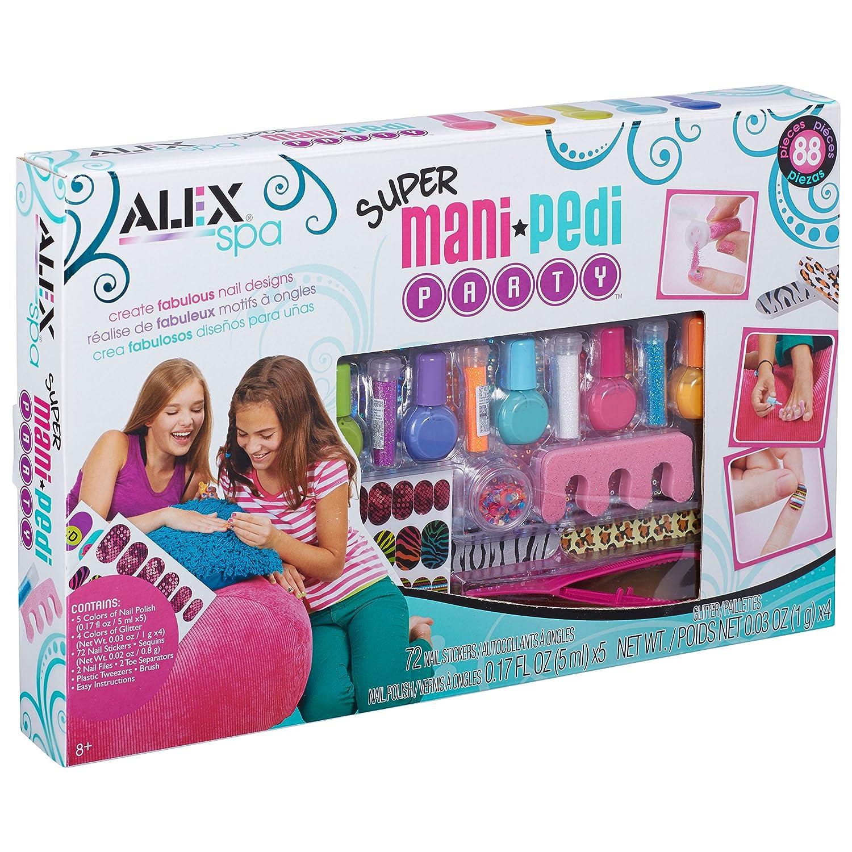 Amazon.com: ALEX Spa Super Mani Pedi Party Kit: Toys & Games