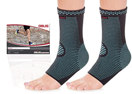 7c9ed2c1a7 Image Unavailable. Image not available for. Colour: OBLIQ Ankle Compression  Socks ...