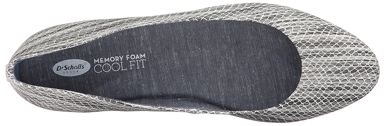 Dr. Scholl's Shoes Women's B(M) Giorgie Flat B01N19U8LA 6.5 B(M) Women's US|Black/White Snake Print ca730f