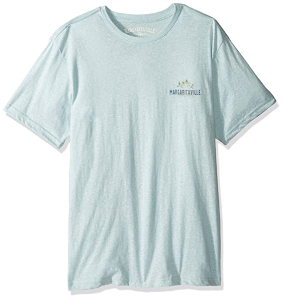 febca3fb Image Unavailable. Image not available for. Colour: Margaritaville Men's  It's 5 O'Clock Somewhere T-Shirt ...