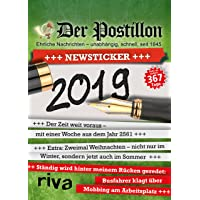 Der Postillon +++ Newsticker +++ 2019: Tagesabreißkalender