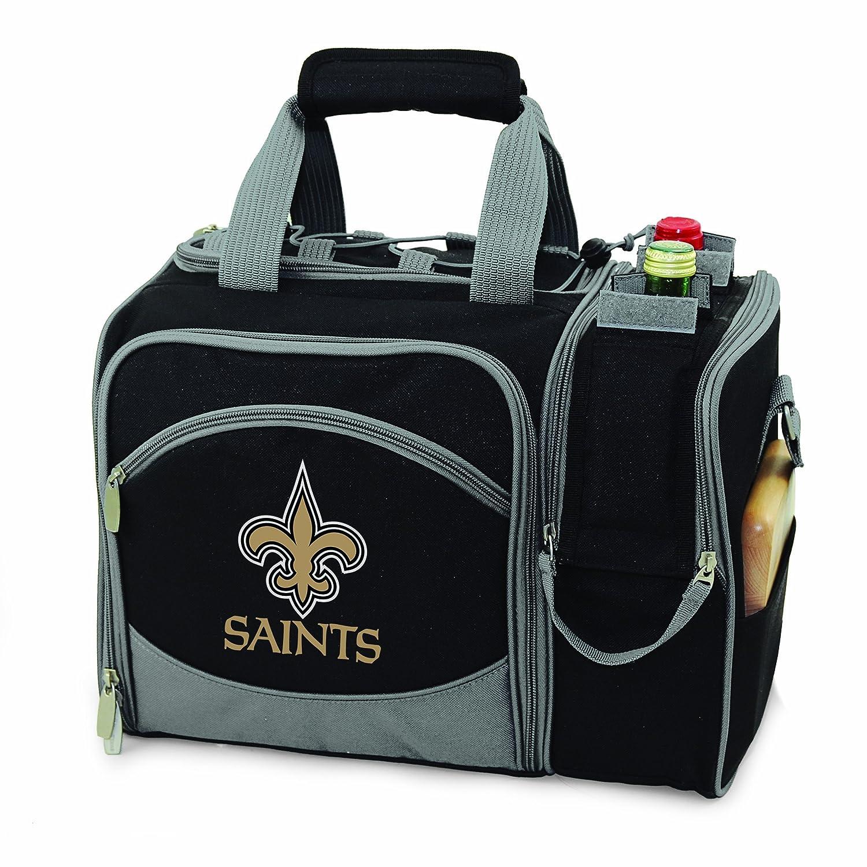 最終値下げ ピクニック時間NFL新しいOrleans B005HOZ8P6 Saintsマリブの断熱ショルダーパックwithデラックスピクニックサービス2つ B005HOZ8P6, 【新品】:6b96295c --- arianechie.dominiotemporario.com