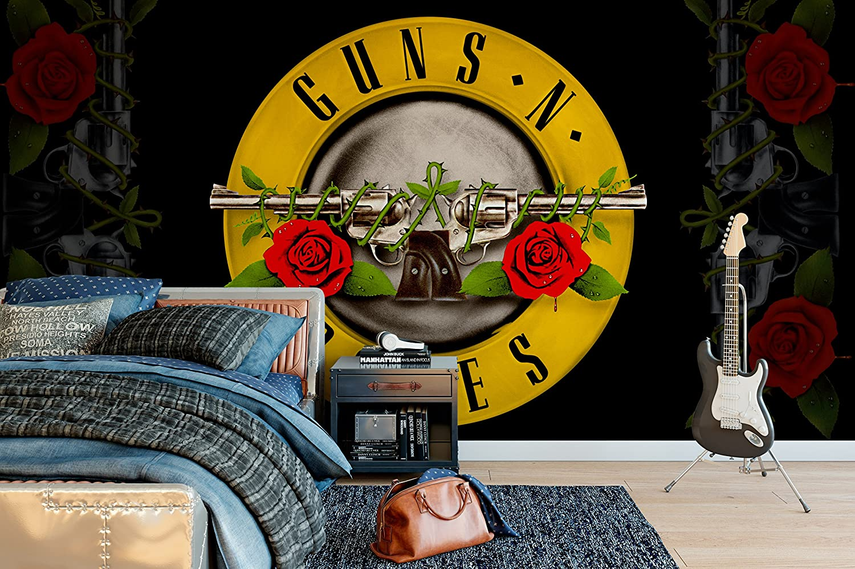 Officially Licensed Guns N Roses Bullet Wall Mural