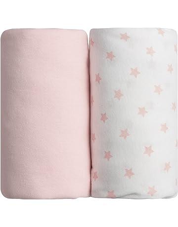 2 drap draps en coton bébé Ensemble de literie Babyprem 84 x 43 cm lit matelas