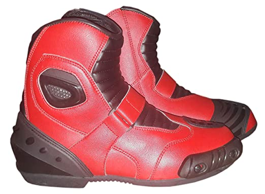 Motorcycle Leather Anti-Skid Sports Gear Outdoor Racing Boots