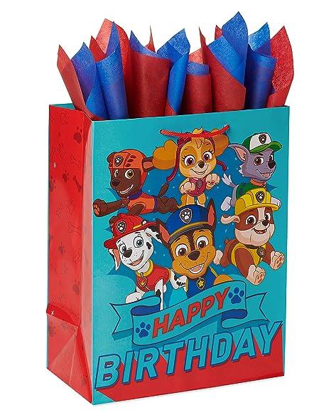 American Greetings 6424352 - Bolsa de regalo y pañuelo ...