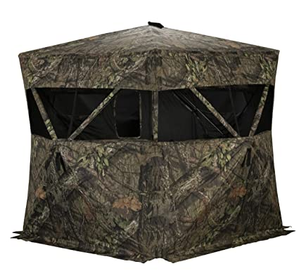 Amazon com : Rhino Blinds R200-MOC 3 Person Hunting Ground Blind