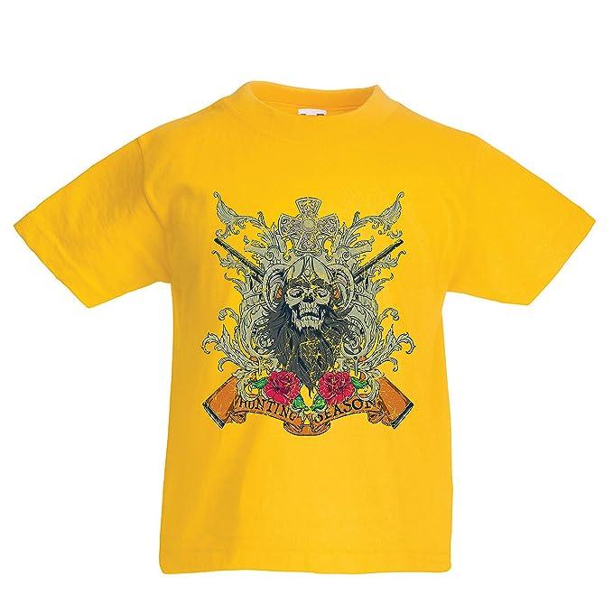 lepni.me Camiseta para Niño/Niña Ropa de Temporada de Caza - Caza de venado o Pato, Ropa de Cazador: Amazon.es: Ropa y accesorios