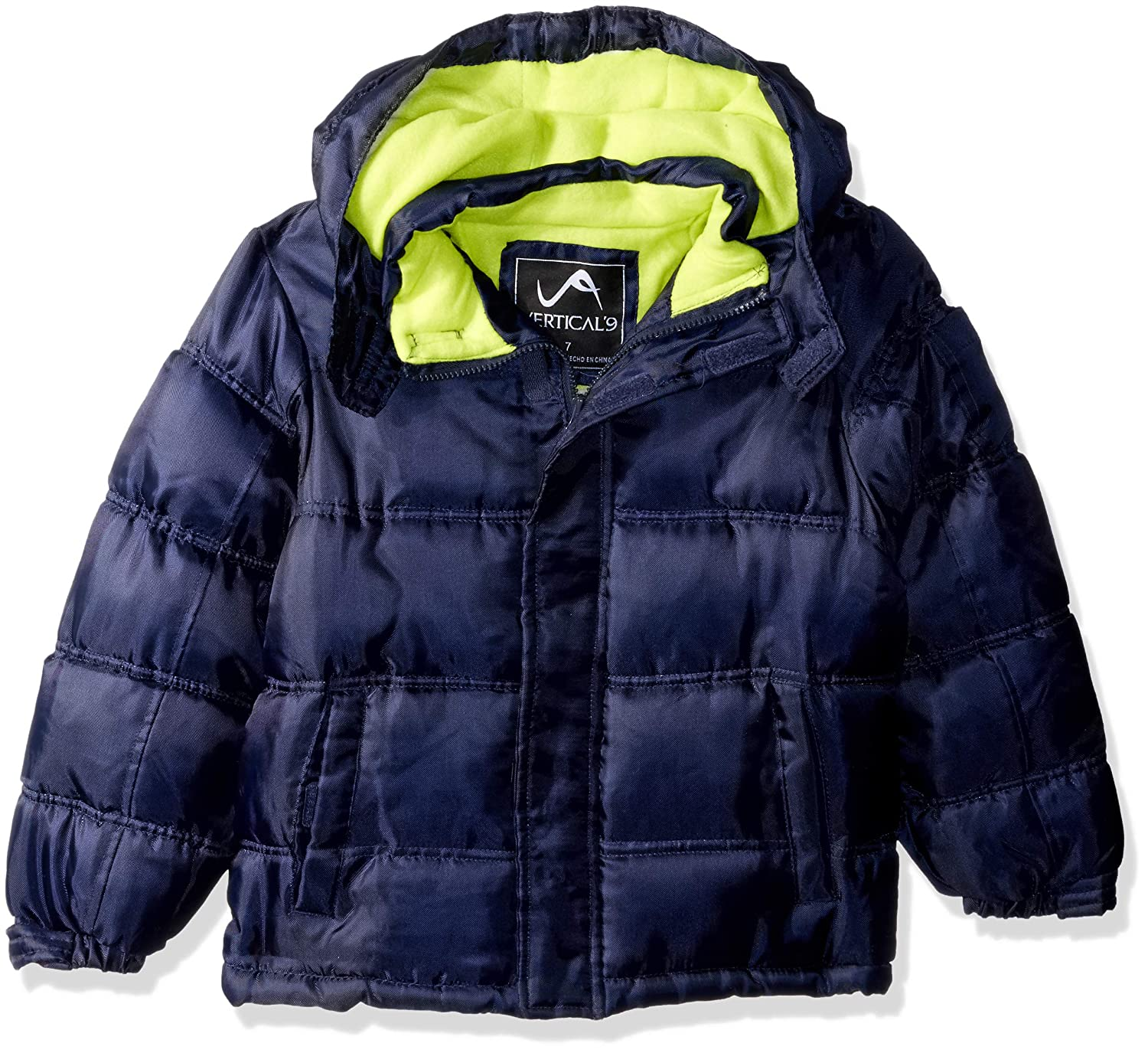 Vertical 9 Boys Bubble Jacket with Storm Placket Vertical 9 O/_V219H