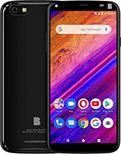 "BLU Studio Mega 2019-6.0"" Display Smartphone, 32GB+2GB RAM- Black"
