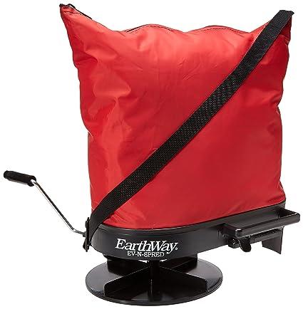 Productos Earthway con palanca de mano bolsa carro rojo 5libras Hopper ...