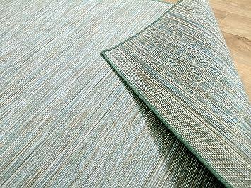 Outdoor Küche Nl : In outdoor teppich beidseitig flachgewebe hampton mintgrün