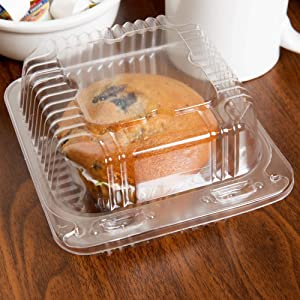 50 Clear Plastic Containers, 5