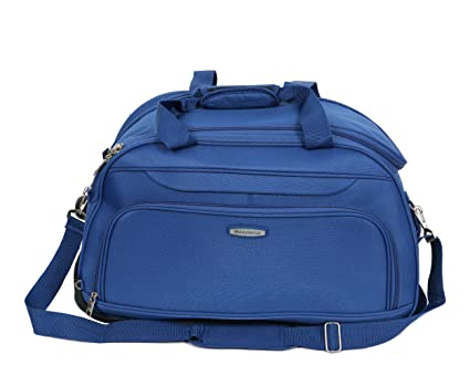 Aristocrat Dart Polyester with PU Coating 55 L Duffle on Wheels (65 cm)   Amazon.in  Bags 97b1753218e8a