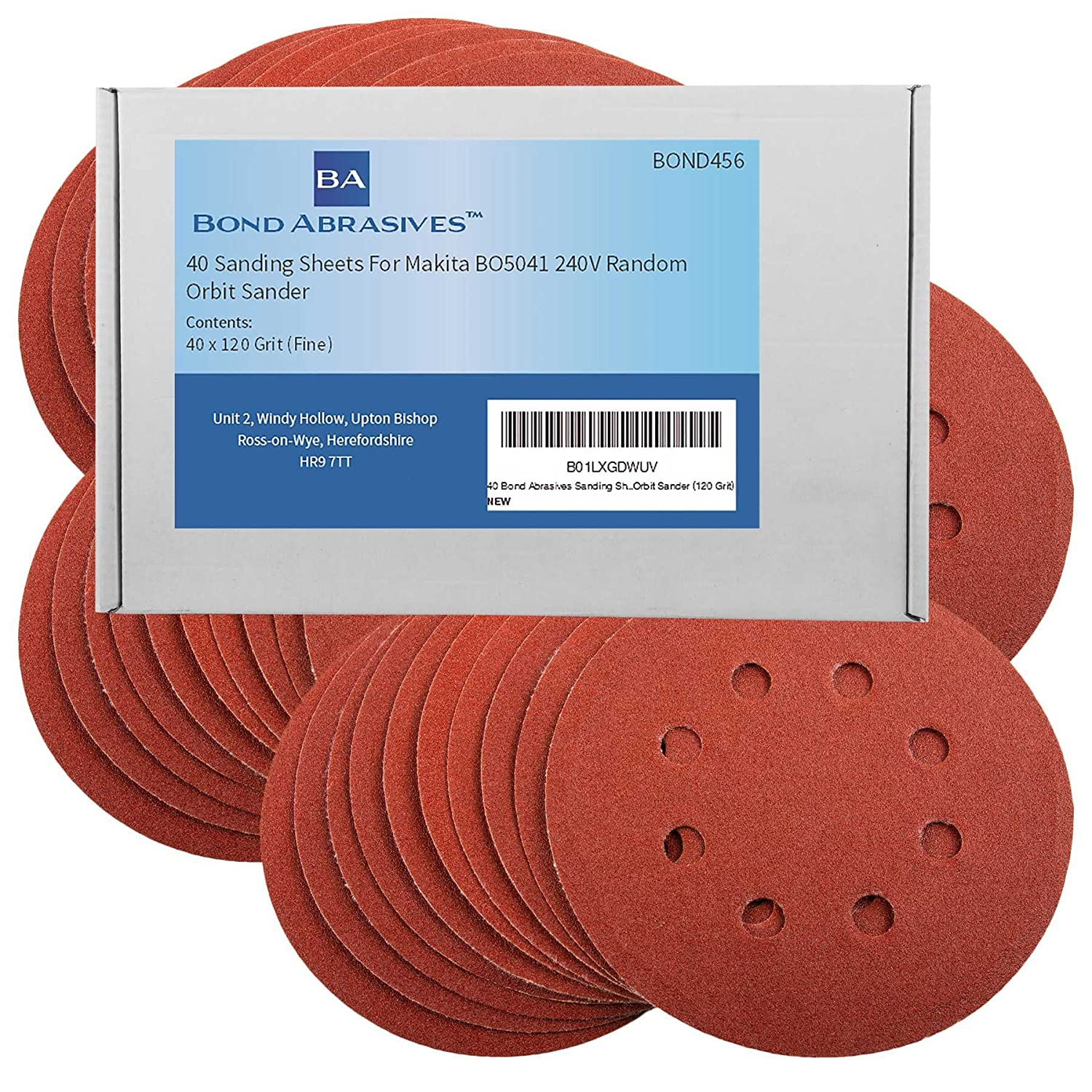 105/ x 152/ mm Grit 120/ Pack of 50/  / For Priority SBS Velcro Sanding Sheets