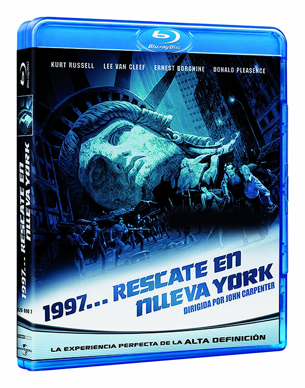 Escape from New York [BR] [Blu-ray]: Amazon.es: Donald Pleasence ...