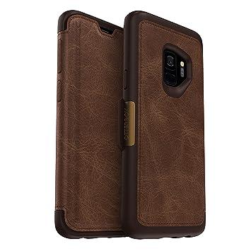 promo code 38ec2 2dc61 OtterBox Strada Folio Case for Samsung Galaxy S9 - Espresso