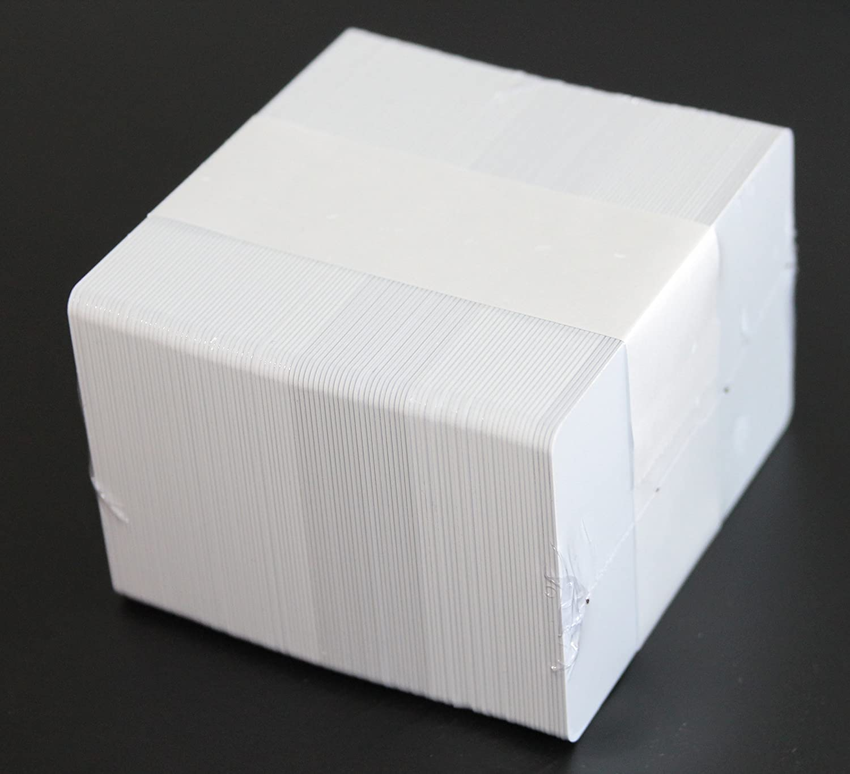 VPE 100 Stk. wei/ß CardPlus PVC Plastikkarte mit I-Code SLIX RFID chip
