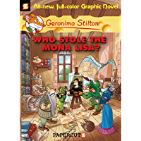 Geronimo Stilton Graphic Novels #6: Who Stole the Mona Lisa? (English Edition)