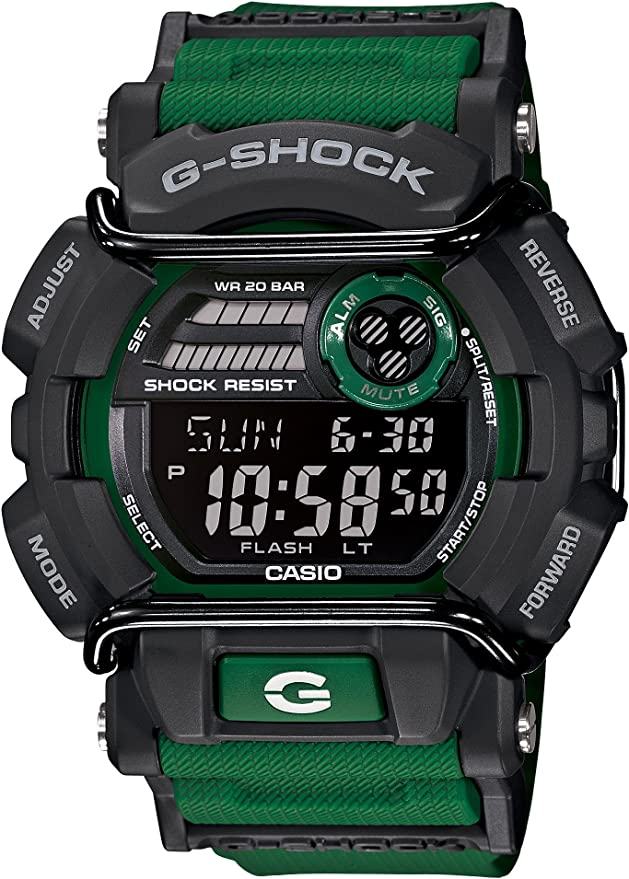 [カシオ] 腕時計 ジーショック GD-400-3JF グリーン