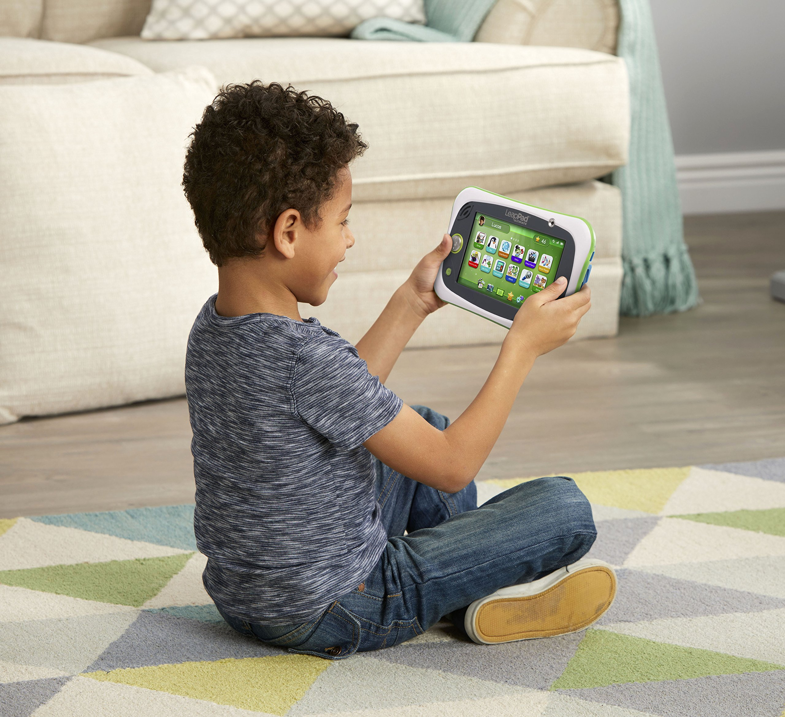 LeapPad Ultimate Kids Learning Tablet (Green) by LeapFrog (Image #2)