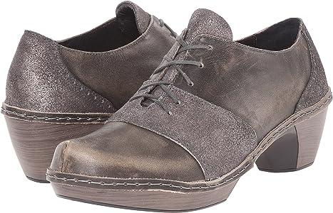 Naot Damen Schuhe Stiefelette Avila Echt Leder grau geprägt 12838 Wechselfußbett