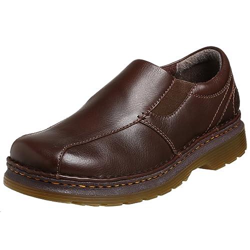 Dr. Martens Hombre Tevin Zapatos, Marrón (Café Oscuro), 11 UK (