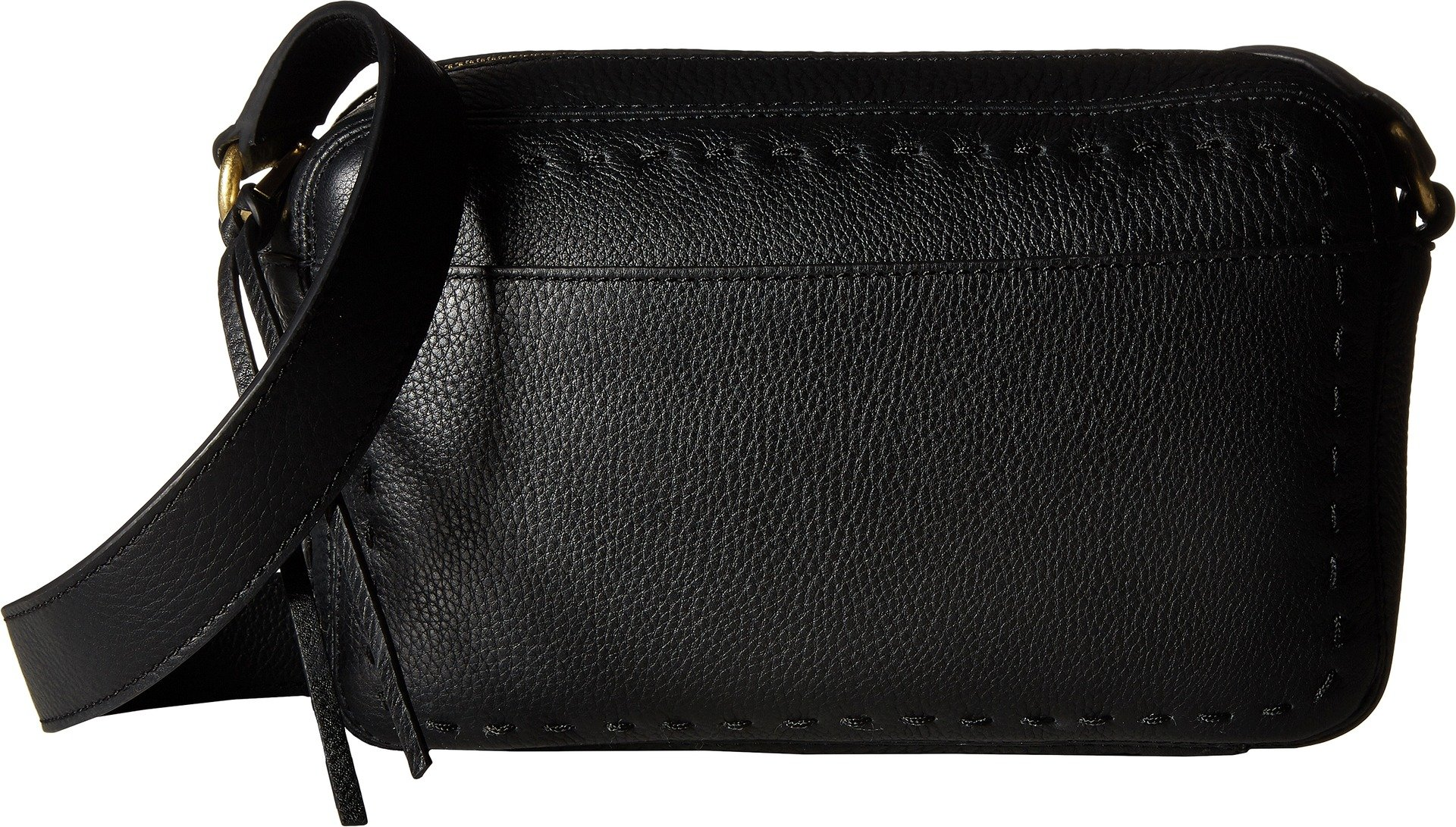 Cole Haan Womens Ivy Pic Stitch Camera Bag Black One Size