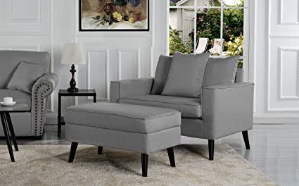 Amazon Com Overstock Mid Century Living Room Large Accent Chair