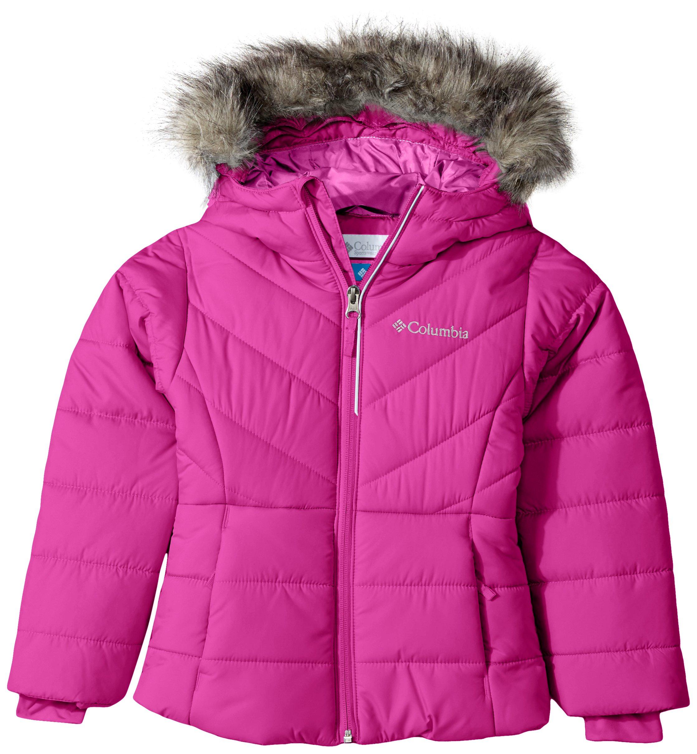 Columbia Toddler Girls' Katelyn Crest Jacket, Deep Blush, 3T