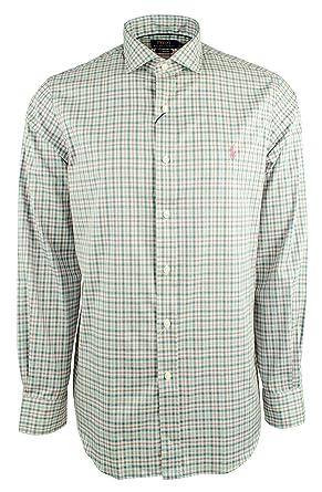 a5530b6ac Polo Ralph Lauren Men s Plaid Performance Twill Long Sleeve Shirt at ...