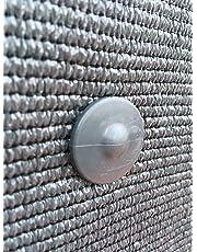 edenvista Fixation Brise Vue GRIPNET traités Anti-UV pour Panneaux grillagés (diamètre Tige 5mm) X30