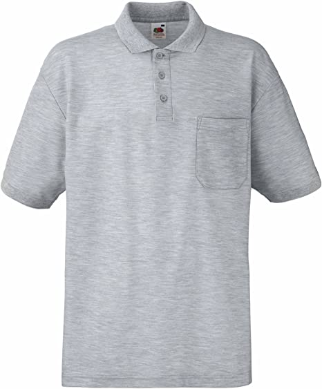 Fruit of the Loom Pocket Polo Hombre: Amazon.es: Ropa y accesorios