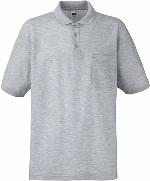 Fruit of the Loom Pocket, Polo para Hombre: Amazon.es: Ropa y ...