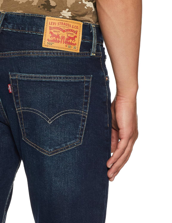 miten ostaa ostaa uusia aito Levi's Men's (502) Regular Tapered Fit Jeans
