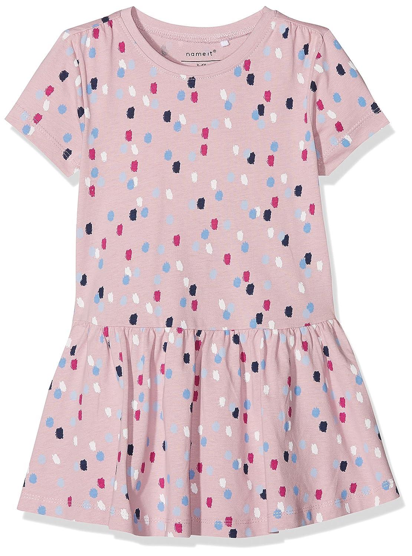NAME IT Baby-Mä dchen Kleid Nmfvita Ss AOP Dress E 13152296