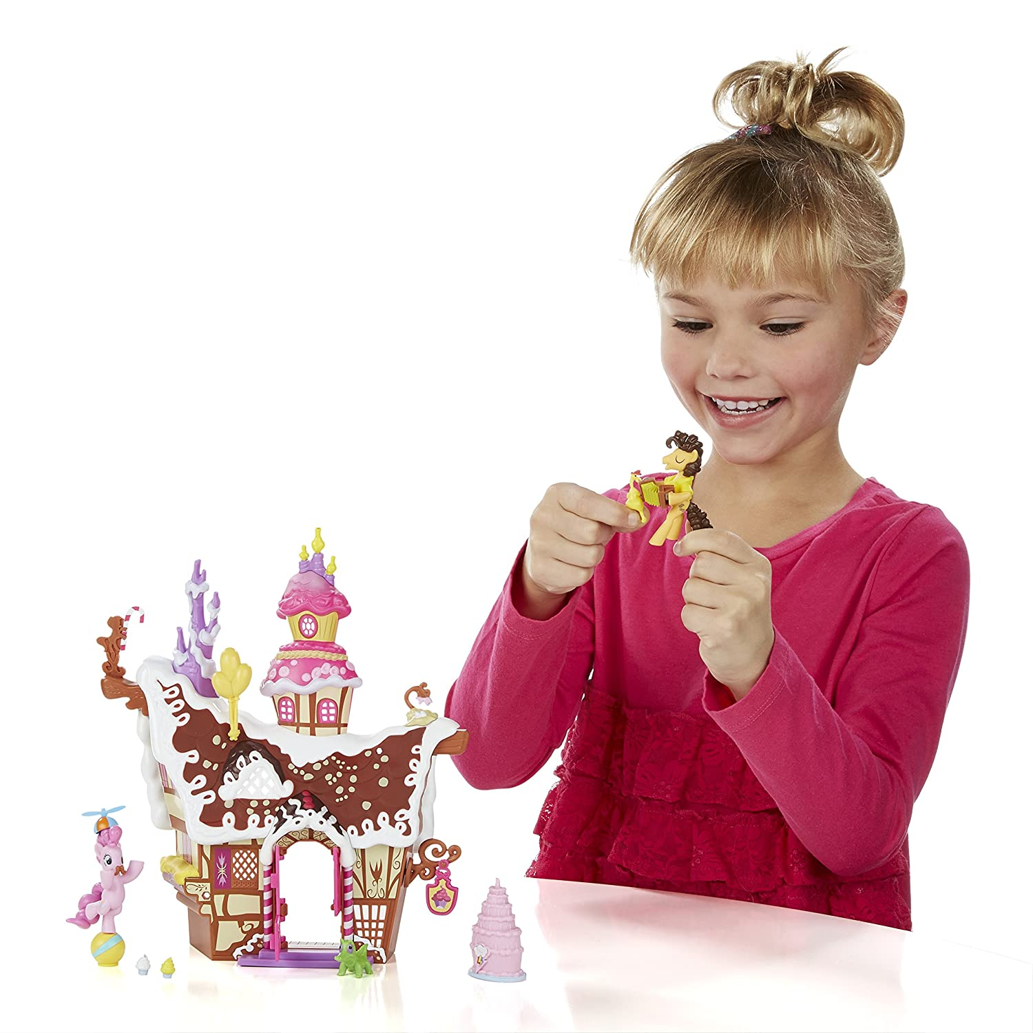 Multi-Colour Hasbro My Little Pony Friendship is Magic Collection Pinkie Pie Sweet Shoppe Playset