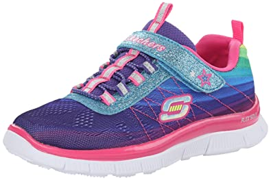 Skechers Girls' Skech Appeal Perfect Picture Low-Top Sneakers Multicolour  Size: 9.5 Child