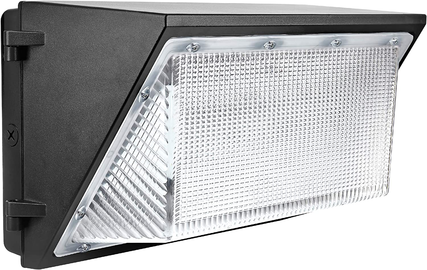 DLC IP65 Waterproof HPS HID Replacement Hyperikon LED Wall Pack 5000K 2 Pack 200W Commercial and Industrial Outdoor Lighting UL